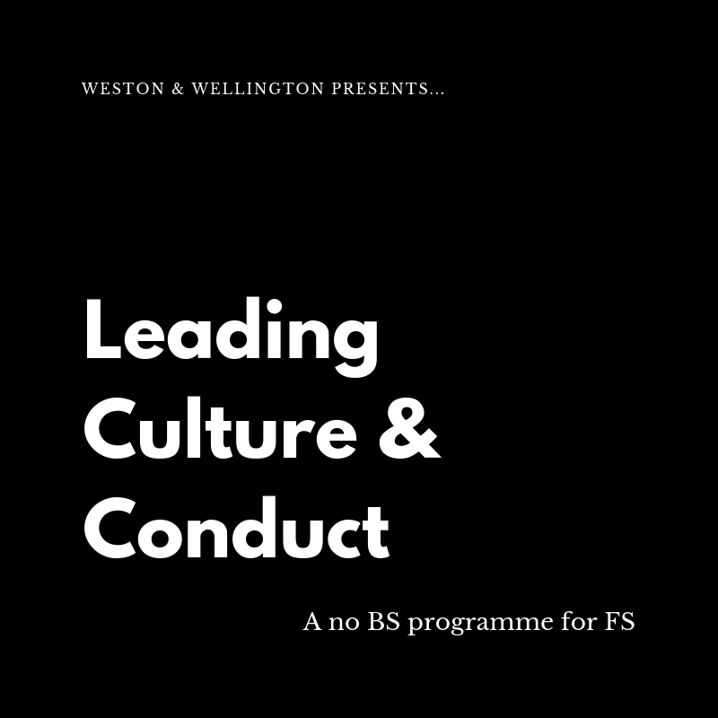 Leading Culture & Conduct